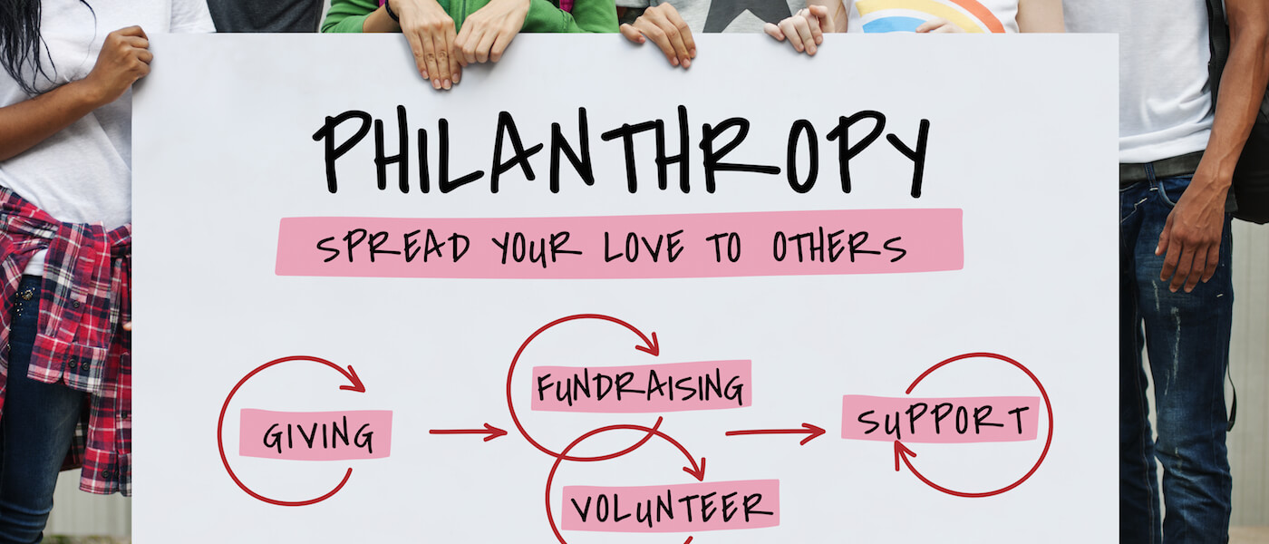 philanthropy sign